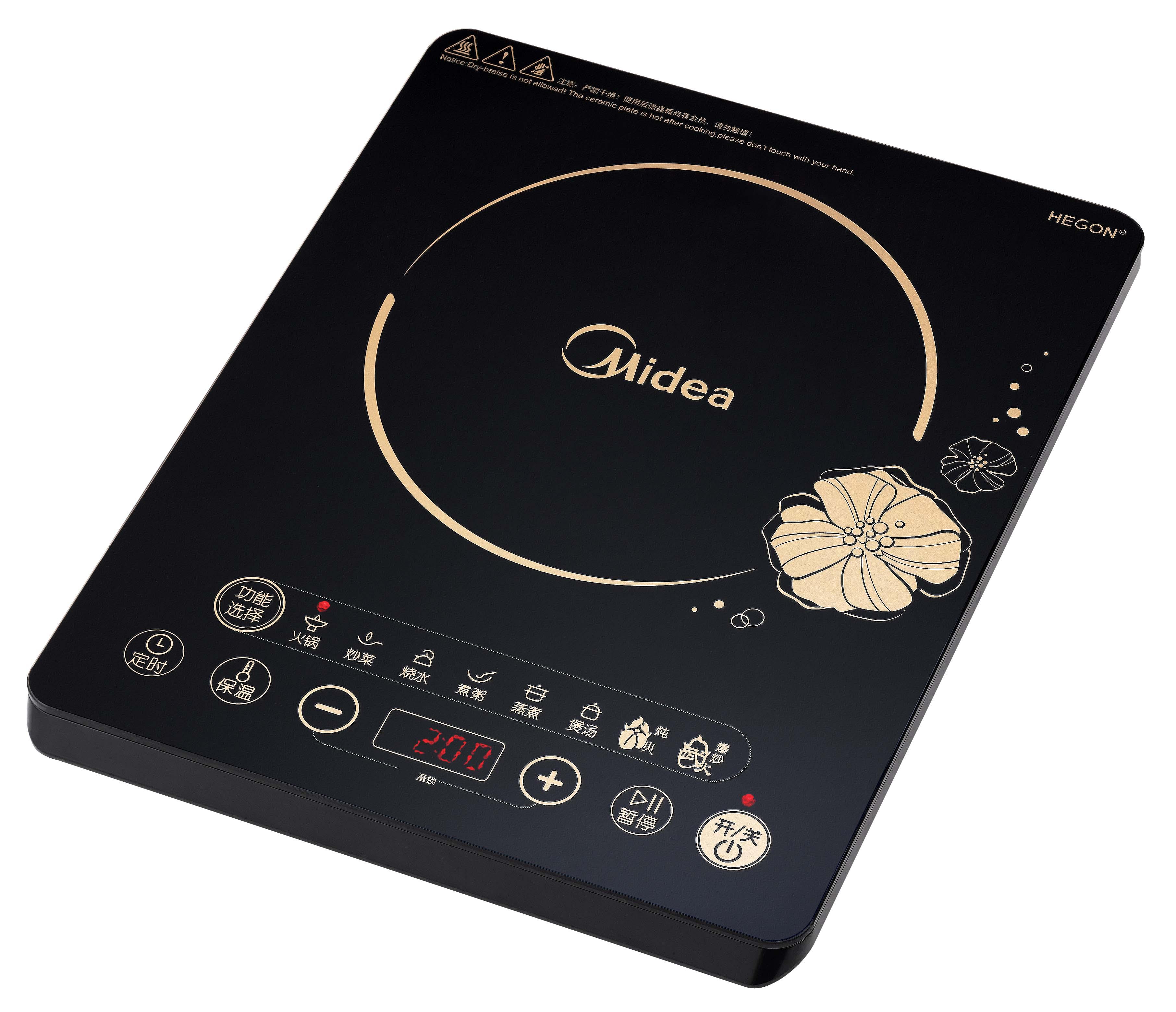Midea/美的 RT2120电磁炉 说明书.pdf